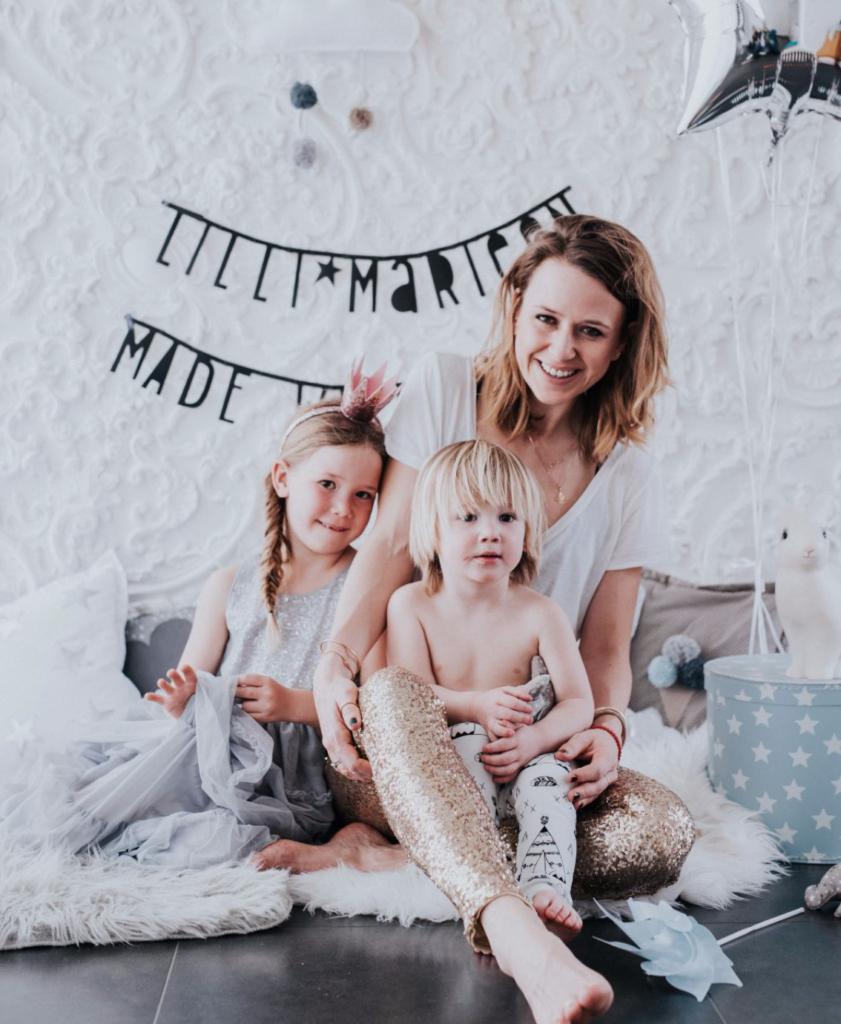 Tina-Marie Efferl von Lilli-Marleen mit ihren Kindern