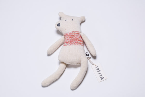 """Strickpuppe """"Beary"""" Eisbär von sebra"""