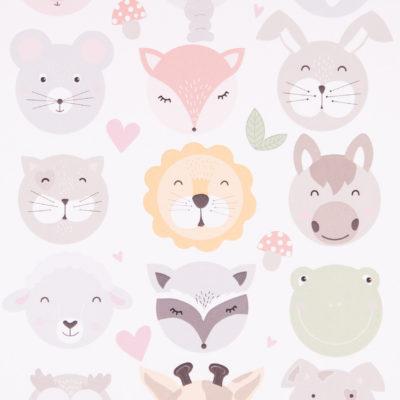 Tier-Sticker Pünktchen und Butnfleck