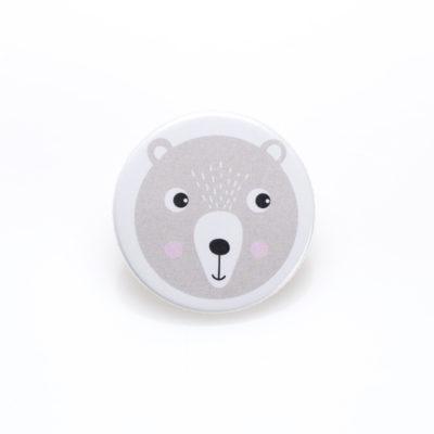 Button Anstecker Pin Bär