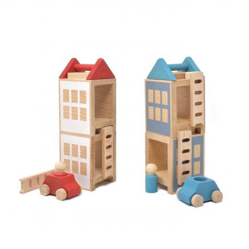 Konstruktionsspielzeug Lubu Town Summerville Maxi von Lubulona
