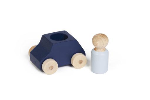 Blaues Spielzeugauto von Lubulona