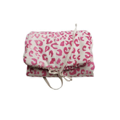 Wickelunterlage Leopard pink von normadot