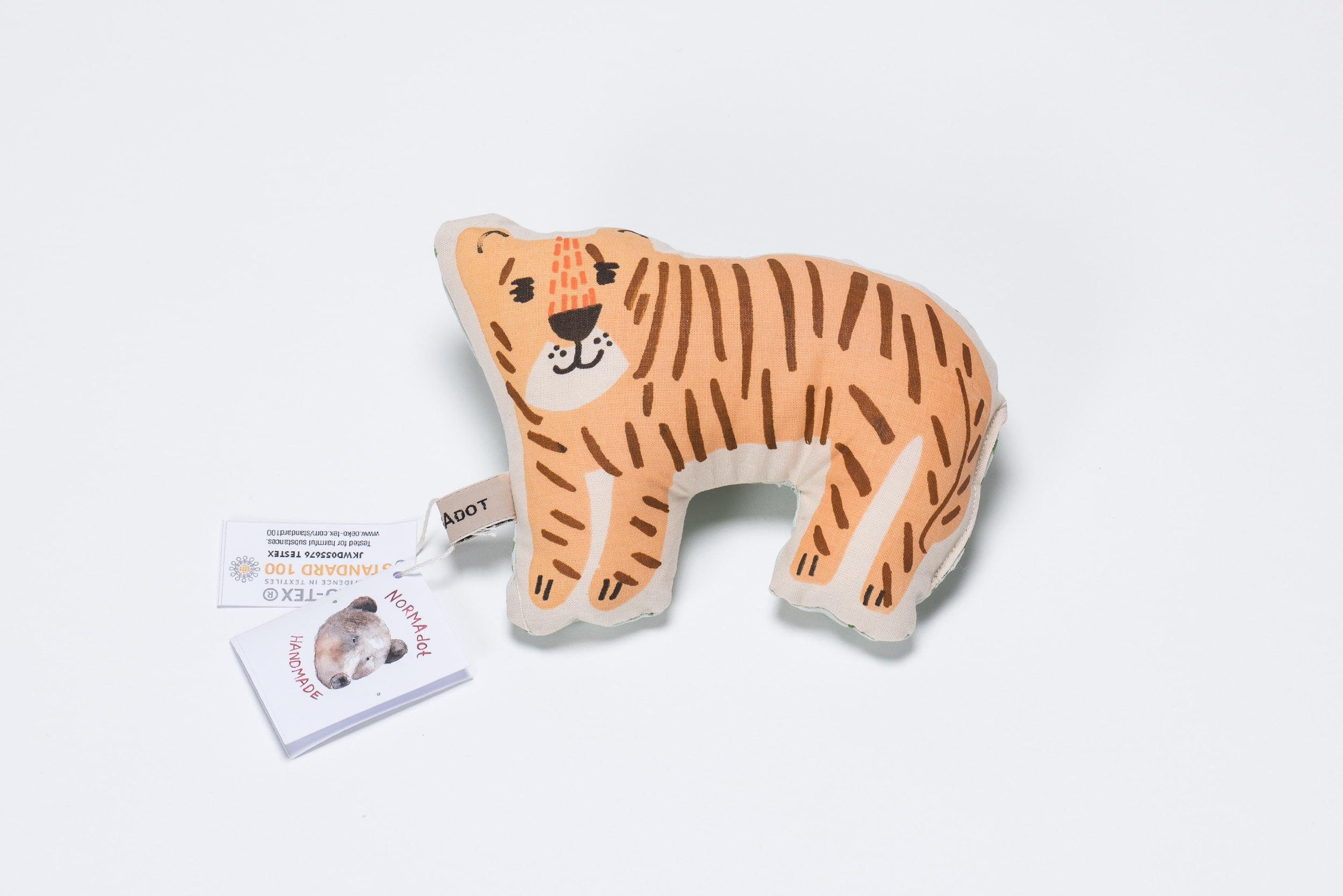 Tiger-Rassel von normadot