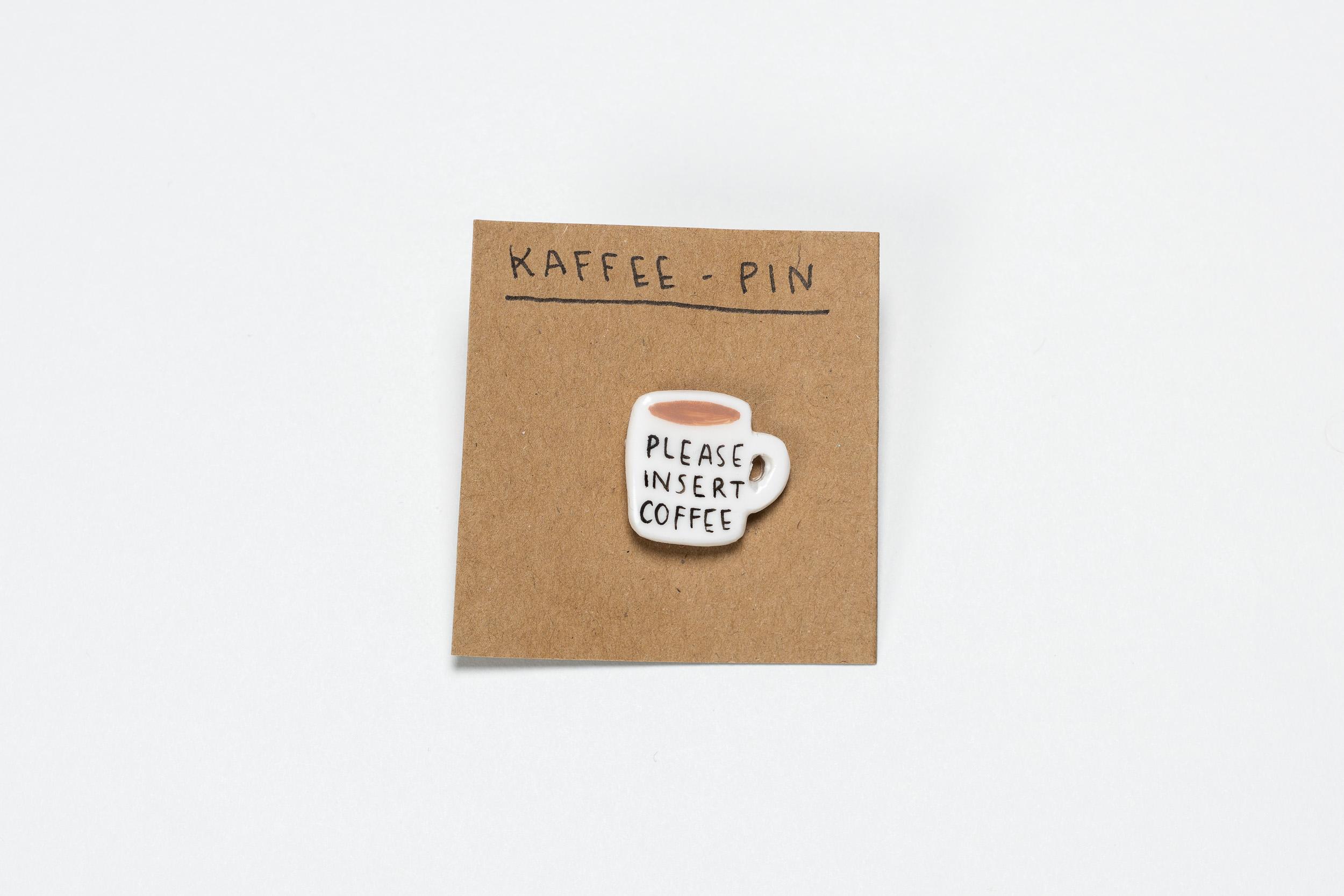 Kaffee-Pin von Alexa malt