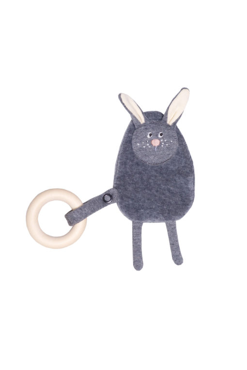 Knistertier Hase von Wooly Organic