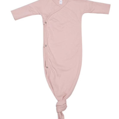 Knoten-Schlafanzug altrosa