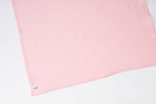 Musselintuch Spucktuch rosa
