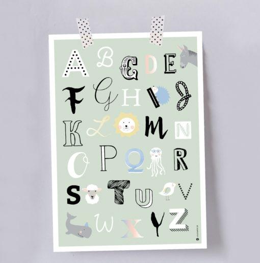 Artprint ABC von Louise Wiese