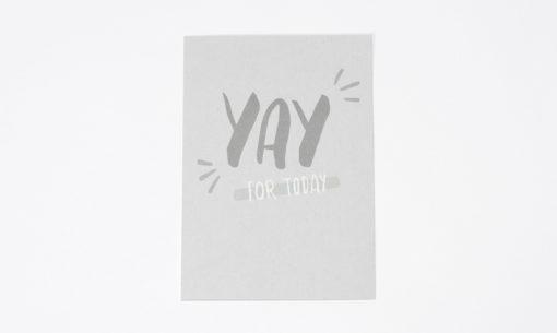 Postkarte Yay for Today Julia Klein Designs
