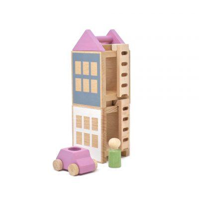 Konstruktionsspielzeug Lubu Town Spring City Mini von Lubulona