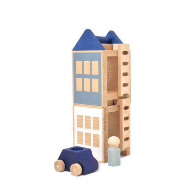 Konstruktionsspielzeug Lubu Town Winterburg Mini von Lubulona