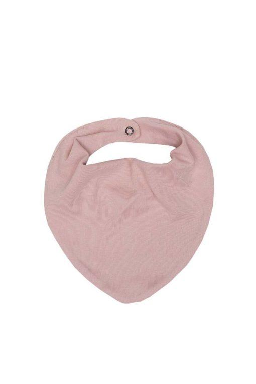 Baby-Halstuch von Wooly Organic in der Farbe Dusty Pink GOTS-zertifiziert