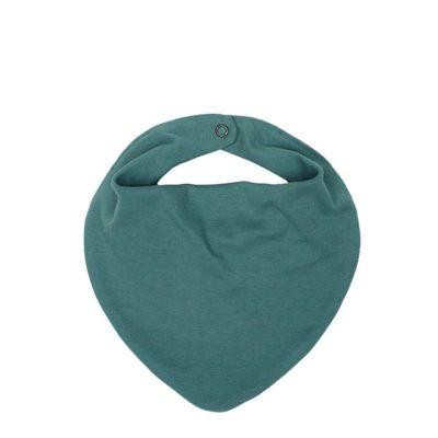 Baby-Halstuch von Wooly Organic in der Farbe Sea Pine GOTS-zertifiziert