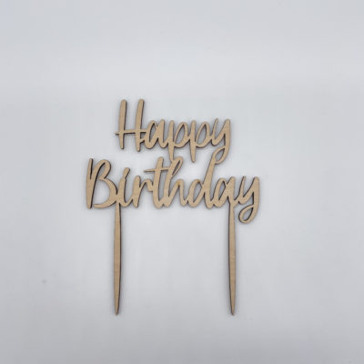 Cake Topper Happy Birthday Liebding Manufaktur