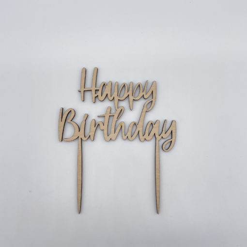 Cake Topper Happy Birthday Liebding Manufaktur