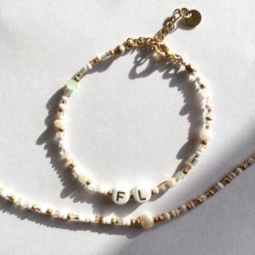 "Personalisiertes Armband ""Gold"" von Banana Club"