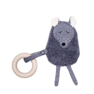 Knistertier Maus von Wooly Organic