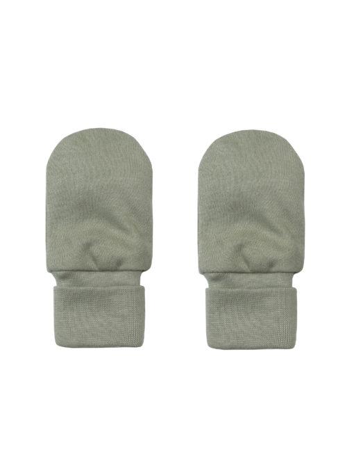 Kratzfäustlinge Handschuhe sage GOTS Wooly Organic